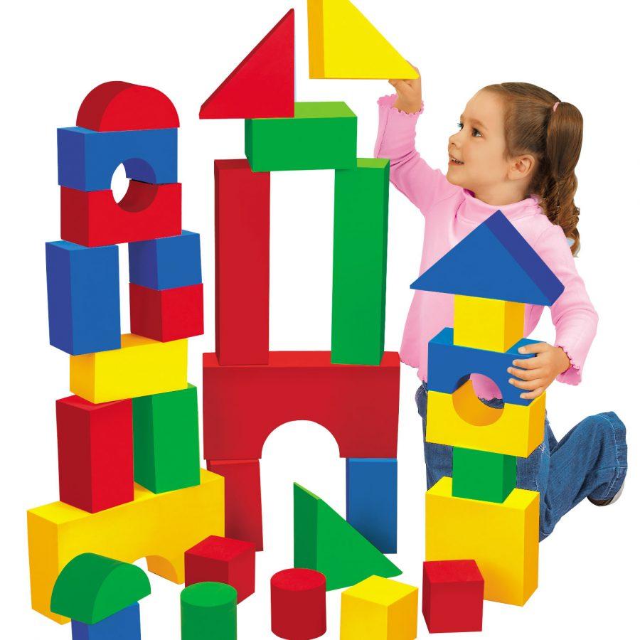 Soft Quiet Building Blocks