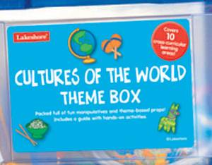 CULTURES OF THE WORLD THEME BOX