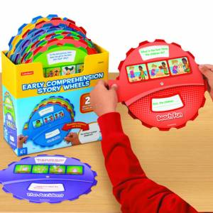 EARLY COMPREHENSION STORY WHEELS