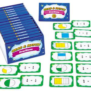 GRAB & MATCH LEVELED FRACTIONS