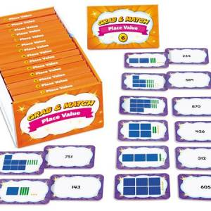 GRAB & MATCH LEVELED PLACE VALUE