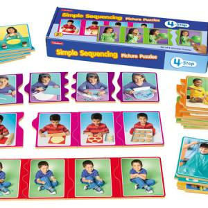 4 STEP SIMPLE SEQUENCING PUZZLE
