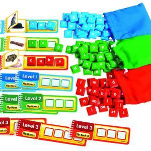 STACK & BUILD PHONICS FLIP BOOKS