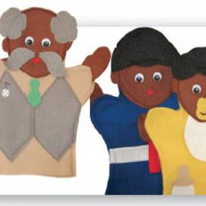 FAMILY HAND PUPPET (SET OF 7)