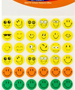 STICKERS – SMILEY FACES 384