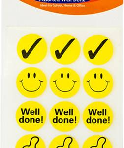STICKERS – WELL DONE 136
