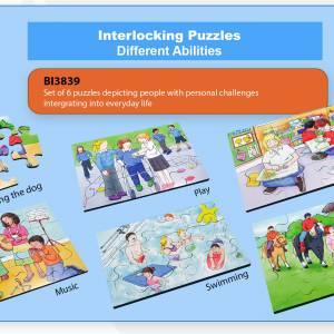INTERLOCKING PUZZLE – DIFFERENT ABILITIES