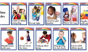 CLASSROOM LABELS – CLASS RULES