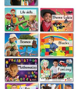 CLASSROOM LABELS – PLAY AREA LABELS