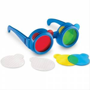 BRITE IDEA COLOUR MIXING GLASSES