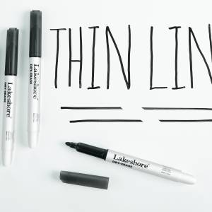 WRITE & WIPE MARKERS- SET OF 4