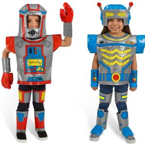 MIX AND MATCH ROBOT COSTUMES