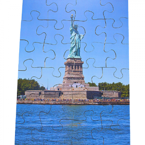 BIG PIECE JIGSAW PUZZLE – STATUE OF LIBERTY