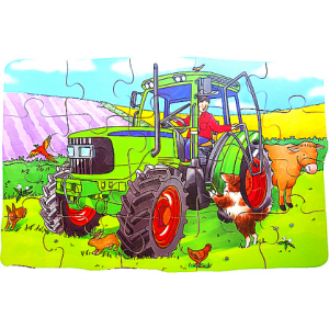 SHAPED FLOOR PUZZLE – TRACTOR