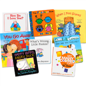 DEALING WITH FEELINGS BOARD BOOK COLLECT