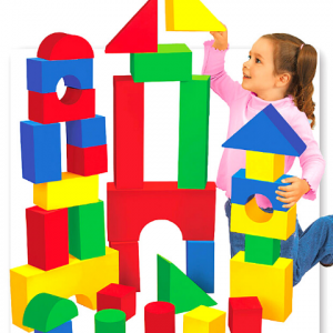 GIANT SOFT BUILDING BLOCKS