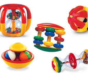 TOLO LARGE BABY RATTLE ACTIVITY SET