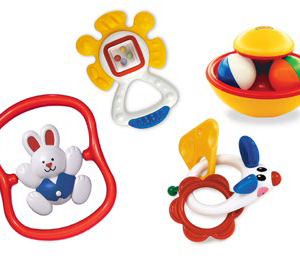 TOLO BABY RATTLE ACTIVITY SET