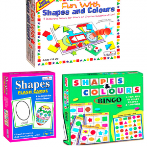 Brite Idea Shapes and Colours Gift Pak 2- Set of 3