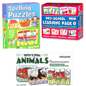 Brite Idea Early Learning Game Pack 2