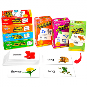 READING FLASH CARDS LIBRARY- COMPLETE SET