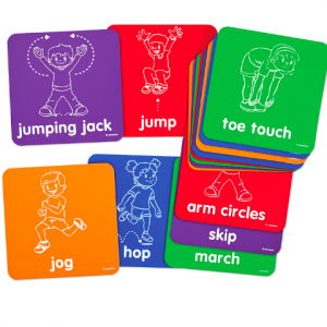 LETS GET MOVING ACTIVITY MATS