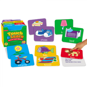 TOUCH& LEARN PICTURE CARD LIBRARY