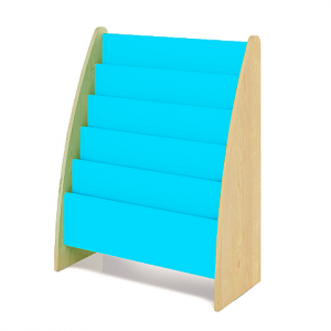 BOOKCASE- TURQUOISE