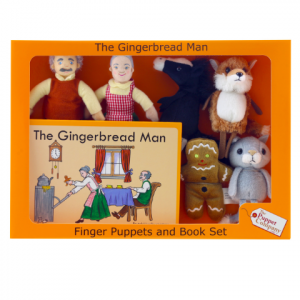 THE GINGERBREAD MAN – TRADITIONAL STORY SETS