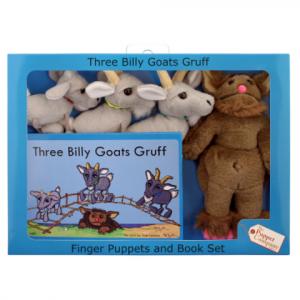 THREE BILLY GOATS GRUFF –  TRADITIONAL STORY SET