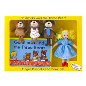 GOLDILOCKS AND THE THREE  BEARS – TRADITIONAL STORY SETS